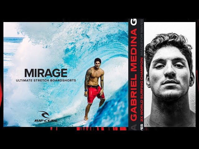 Gabriel Medina's 10M Collection   Mirage, Made For Waves   Rip Curl