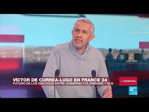 """Víctor De Currea-Lugo: """"es grave la instalación de una guerra contra el terror"""""""