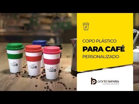 PRONTO BRINDES  COPO PLASTICO PARA CAFE 480ML 18541-001 - BRINDES CORPORATIVO