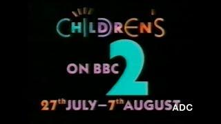 CBBC on BBC2 promo July 1992
