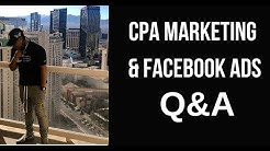 Q&A - CPA / Affiliate Marketing w/ Facebook Ads FAQ Part 2 | Chanel Stevens