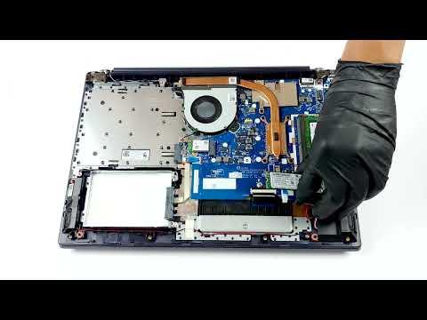Lenovo Ideapad L340 (15'') - disassembly and upgrade options