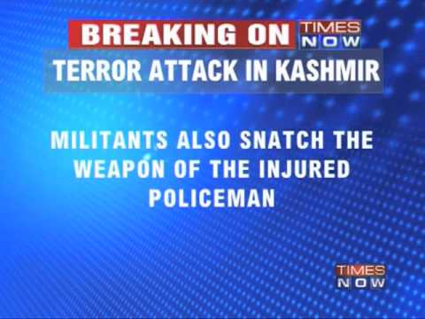 Terrorists attack in Anantnag District