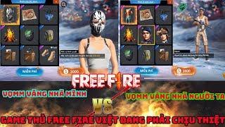 Garena Free Fire | Game thủ FF VN đang chịu thiệt - So sánh vòng quay may mắn vàng VN và nước ngoài