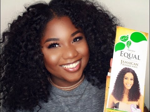 10 Curly Summer Hair Freetress Equal Jamaican Body