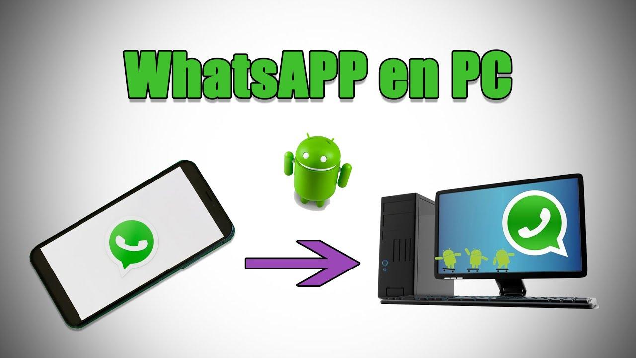 Cómo INSTALAR WhatsApp en PC - YouTube