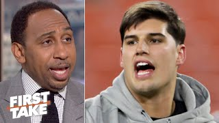 Myles Garrett can argue Mason Rudolph isn't innocent in his appeal - Stephen A. | First Take