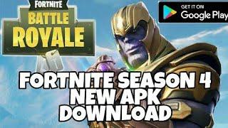 Fortnite season 4 apk download