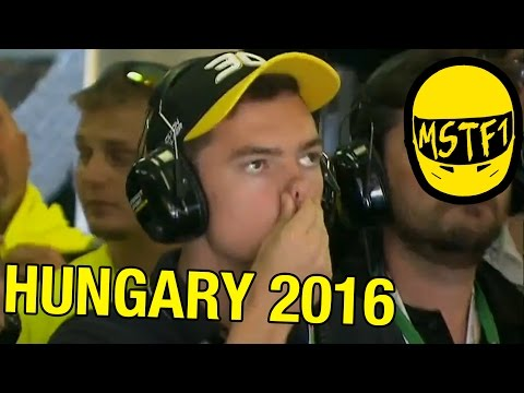 2016 Hungarian (and German) Grand Prix – Mystery Science Theater F1