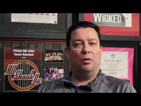 PHS Theatre Teacher Greg Shaw