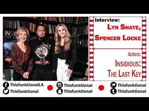 @Thisfunktional Talks With Lyn Shaye, Spencer Locke INSIDIOUS: THE LAST KEY