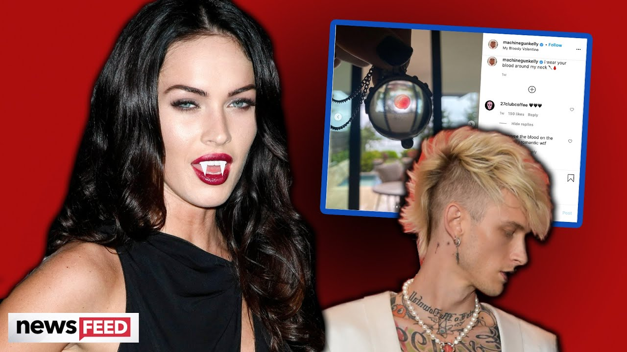 MGK's BLOOD Necklace From Megan Fox Has Her Ex Up In Arms!