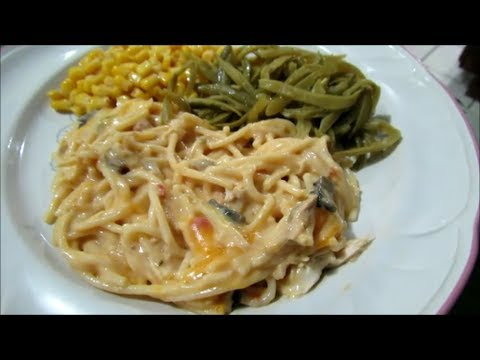 Recipe: Chicken Tetrazzini/Chicken Spaghetti