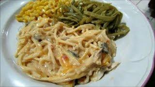 Recipe: Chicken TetrazziniChicken Spaghetti