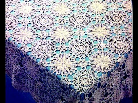 вязание скатерти крючком филейное схемы