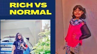 Rich vs normal#the zilna amna showfunny video#sisters#entertainment#rich vs normal#malayalam#fun