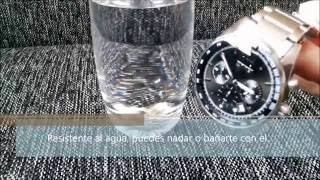 Skmei Elegante reloj hombre sumergible. PuertoSmart.com