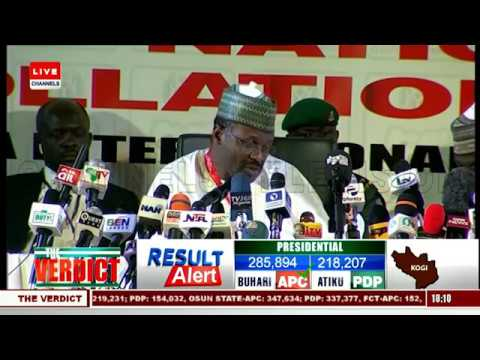 2019 Presidential Election: INEC Announces Kogi Results |The Verdict|