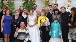 Яркая осенняя свадьба в Луганске