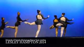 UTM Dance for Lesley Hampton