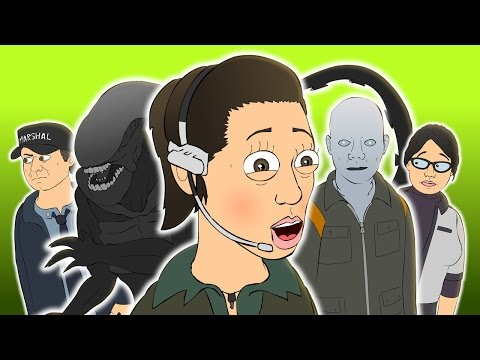 ♪ ALIEN ISOLATION THE MUSICAL  Animated Music  Parody