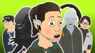 Repeat youtube video ♪ ALIEN ISOLATION THE MUSICAL - Animated Music Video Parody