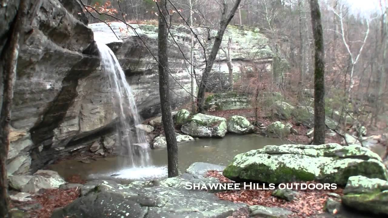 Jackson Falls Shawnee National Forest Illinois Waterfalls Youtube