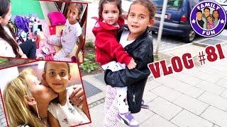 MILEYS GROßE KINDERLIEBE | MEGA ÜBERNACHTUNGSSPAß Vlog #81 Our life FAMILY FUN