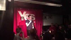Peter Sullivan - Stand up comedy debut - Yesbar, Glasgow - 3rd December 2018