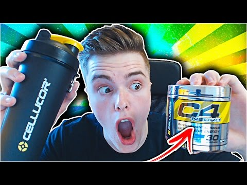 CELLUCOR C4 NEURO UNBOXING AND REVIEW!! ICY BLUE RAZZ C4 NEURO TASTE TEST AND REVIEW!!