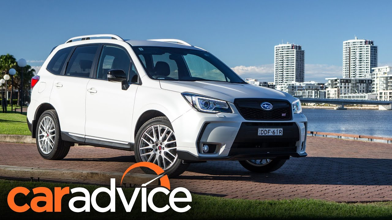 2016 Subaru Forester Ts Review Caradvice Youtube