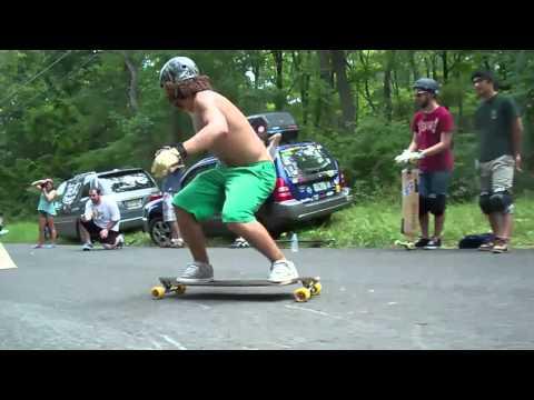 Silverfish Longboarding - NJ Slide Jam - Earthwing Landed It
