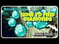How to Find Diamonds in Minecraft FASTEST WAY (actually works)