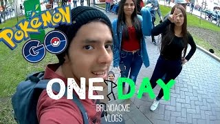 ONEDAY-DETRAS DEL MAESTRO POKEMON! #PokemonGo │ @brunoacme