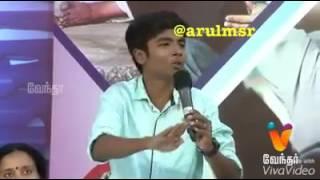 Thala fan boy vs Vijay fan girl