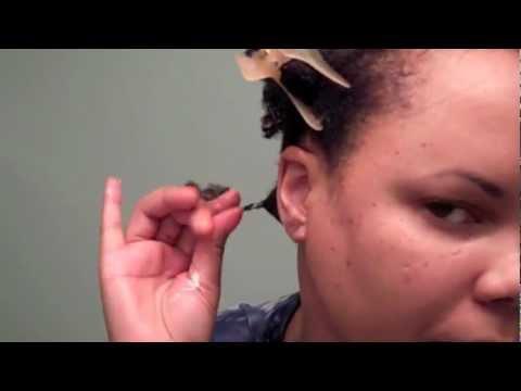 How To Bantu Knot Short Natural Hair YouTube