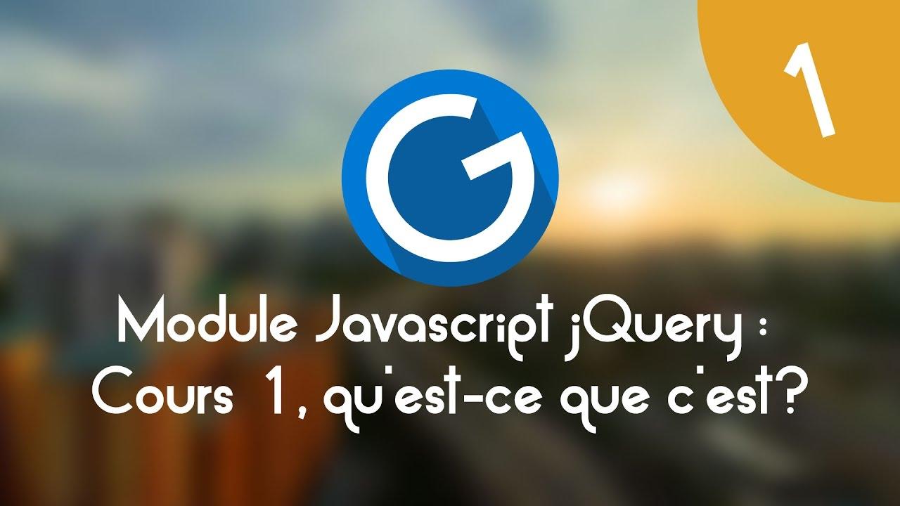 Download Formation IMM - Module Javascript jQuery: Cours tuto 1, le javascript, qu'est-ce que c'est?