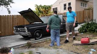 1966 Plymouth Fury Wagon First Start