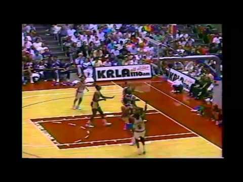 1990 Regular Season LA Lakers@LA Clippers HIGHLIGHTS