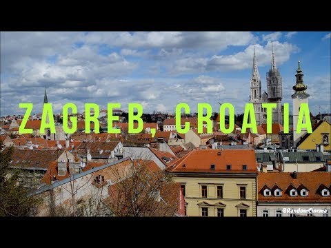 Exploring Zagreb, Croatia! Food, Markets & Attractions | Travel Vlog Day 2,3