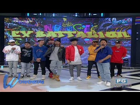 Wowowin: 'Wowowin' stage welcomes, Ex Battalion!