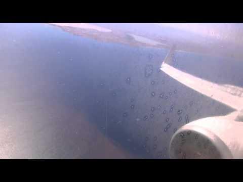 737-800 Ryanair Landing Murcia San Javier (MJV)