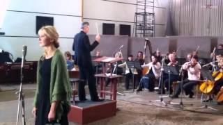 Йоанна Моро съемка сериала