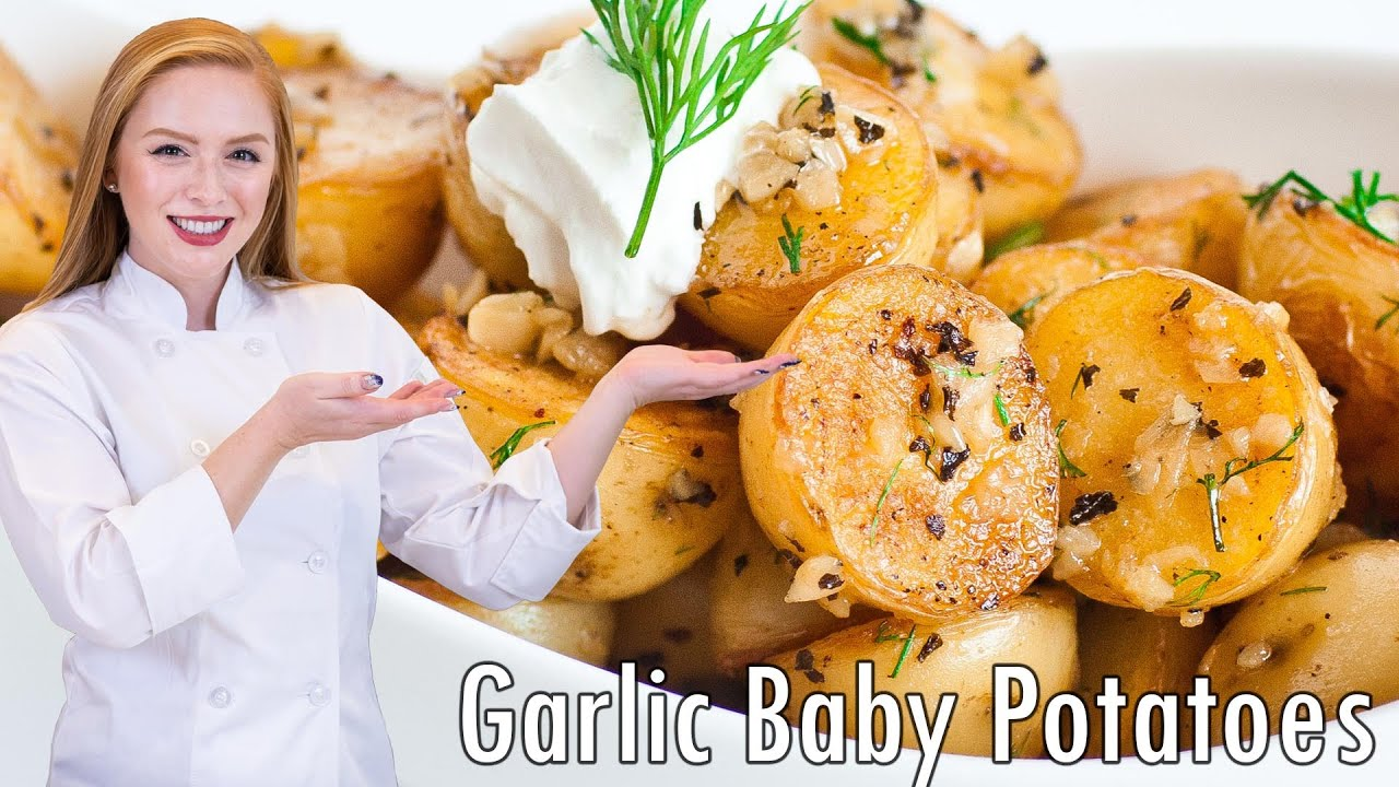 Garlic baby potatoes youtube ccuart Images