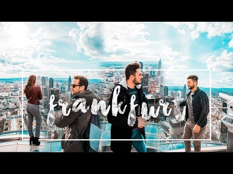 THROUGH MY CAMERA GOES TO FRANKFURT, GERMANY // Travel Video 4K