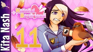 Hatoful Boyfriend Gameplay w/Voices |Part 11| AM I DEAD? (Bad Boy Love) Let