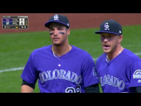 4/3/17: Reynolds powers Rockies to Opening Day win