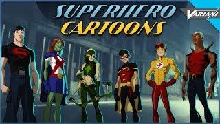 Superhero Cartoons That Were Canceled Too Soon!
