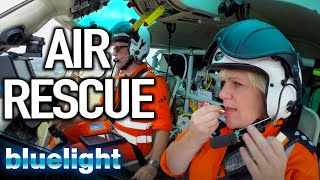 FALLEN onto Concrete (Helicopter Rescue) | Air Ambulance ER | Blue Light: Police & Emergency