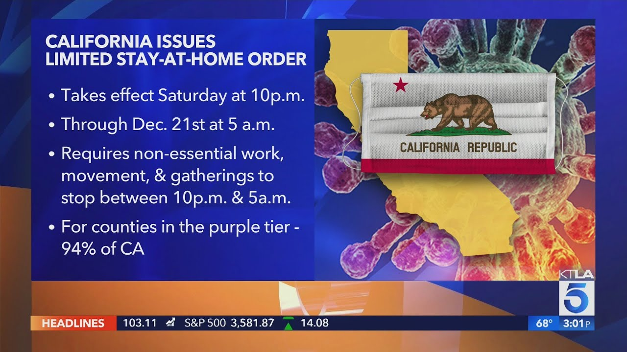 L.A. County's new stay-home order is the strictest in California ...